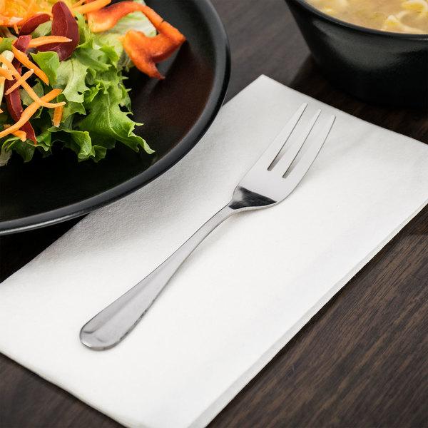 Queen Anne Flatware Stainless Steel Salad Fork - 12/Case Main Image 6