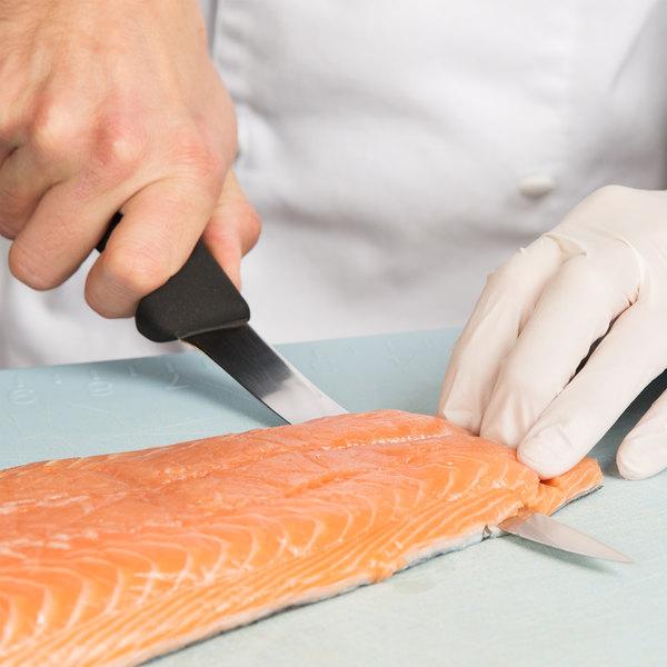 "Victorinox 47613 8"" Flexible Narrow Boning Knife with Fibrox Handle"