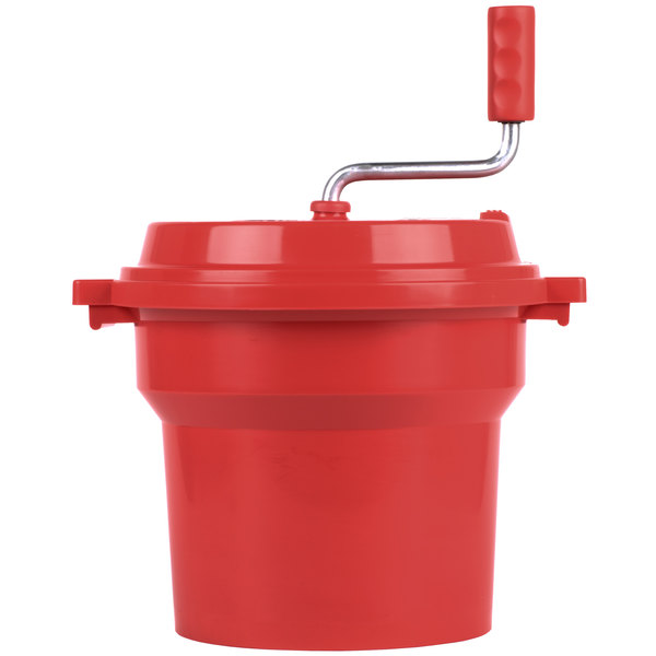 2.5 Gallon Plastic Salad Spinner / Dryer with Brake