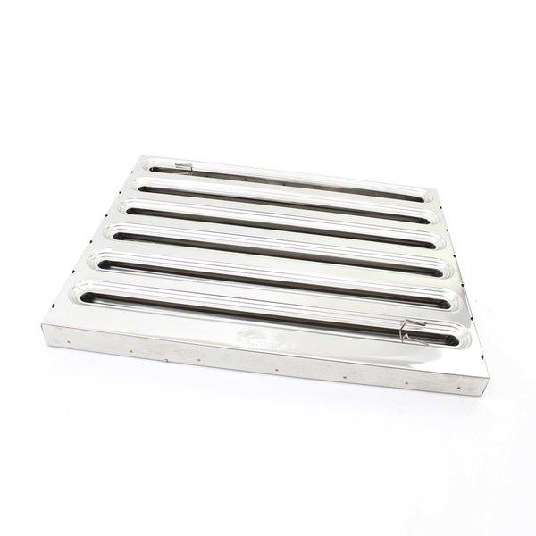 Kason 67001002520 S/S Hood Filter 25h X 20w
