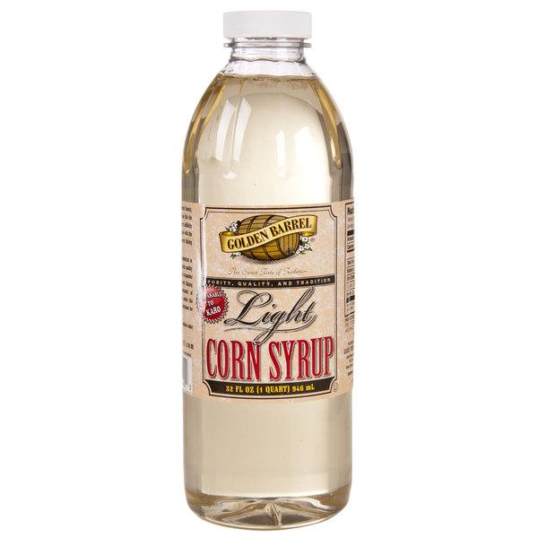 Golden Barrel 1 Qt. Light Corn Syrup Blend - 12/Case