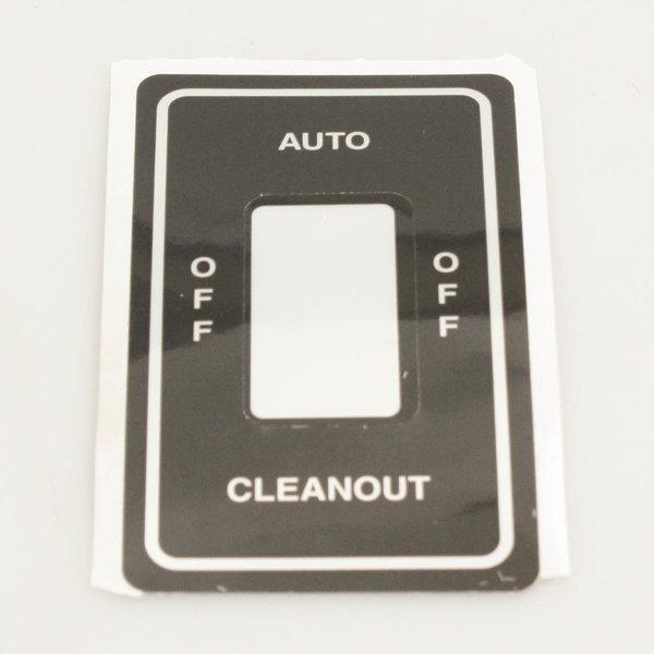 SaniServ 9510 Decal, Auto/Clean