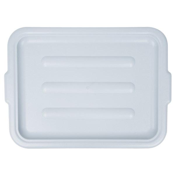 20 Quot X 15 Quot Polyethylene Plastic Bus Tub Bus Box Lid Gray