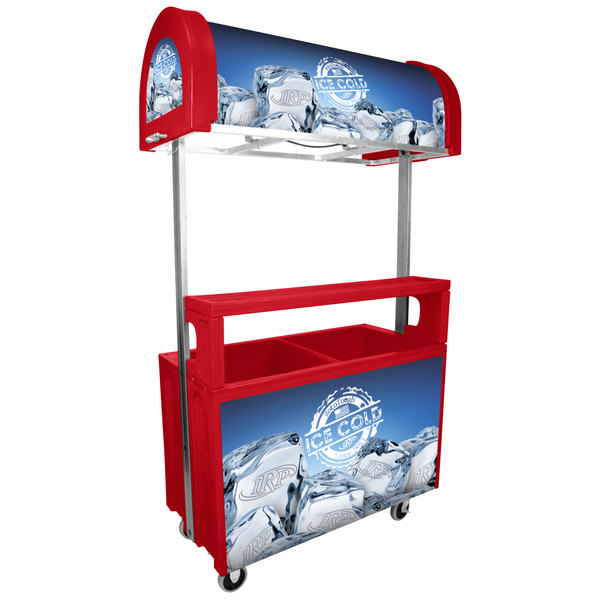 IRP 2050 Red ICC-1 Jr. 216 Qt. Illuminated Concessionaire