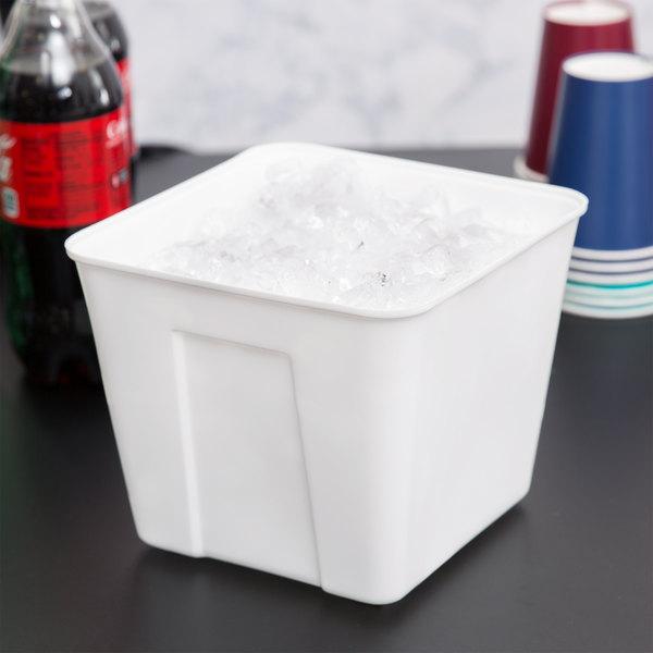 3 Qt. Plastic Ice Bucket - 72/Case