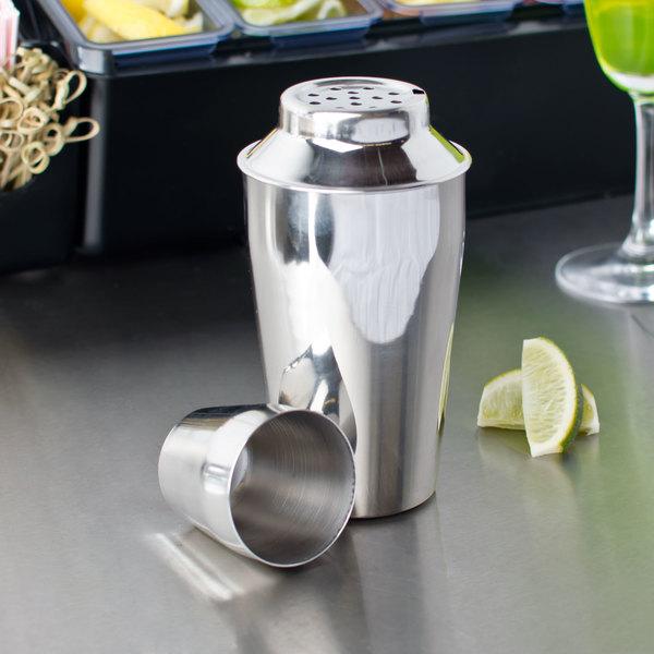 16 oz. Stainless Steel Bar Shaker