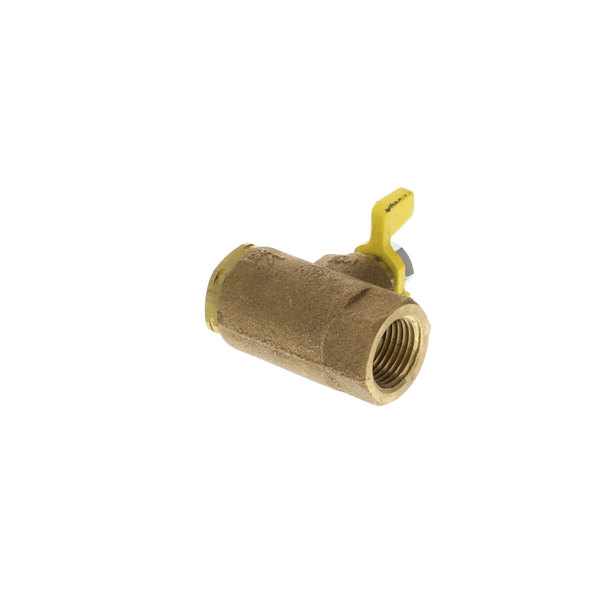 "Frymaster 8101306 1/2"" Brass Manual Gas Valve"