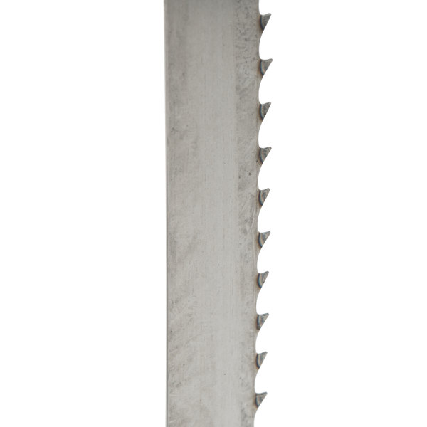 "126"" Band Saw Blade for Frozen Meat and General Use - 4 Teeth / Inch"