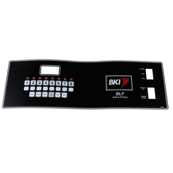 Bki N0709 Control Panel Decal