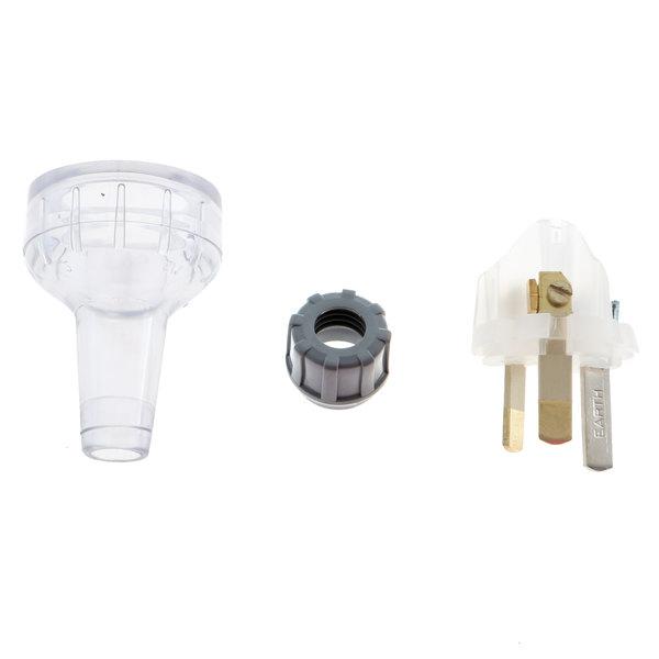 Delfield MCP00191 Plug,10a,Pvc,Transparent Main Image 1
