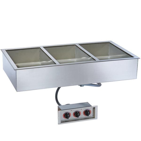 "Alto-Shaam 300-HW/D6 Three Pan Drop In Hot Food Well - 6"" Deep Pans, 240V"
