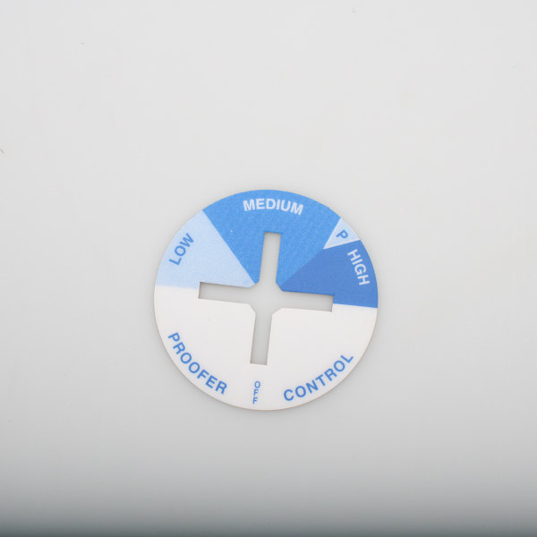 Food Warming Equipment CNTRL-PNL-PH-ETC-DIAL Humidity Decal