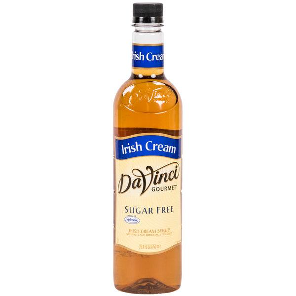 DaVinci Gourmet 750 mL Irish Cream Sugar Free Coffee Flavoring Syrup
