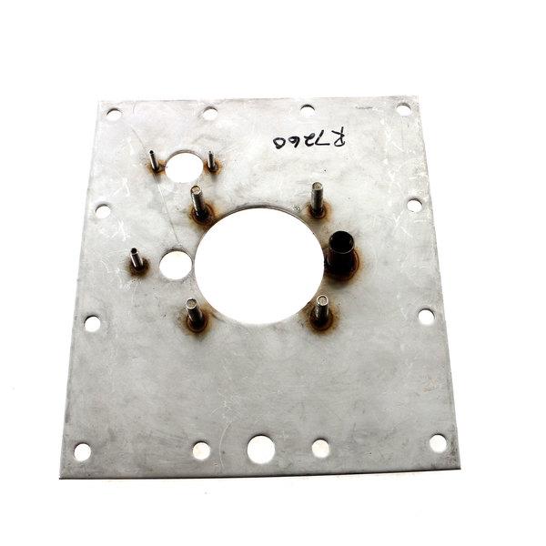 Blodgett R7260 Burner, Mtg Plate 8-1/4 X 7-1/4