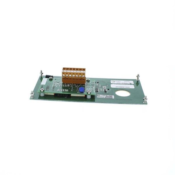 Doyon Baking Equipment 30891401001030 Front Control Panel