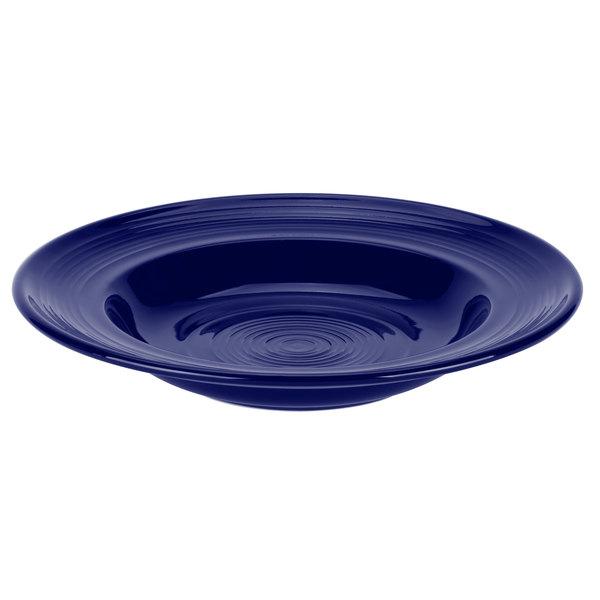 Tuxton CCD-120 Concentrix 23 oz. Cobalt China Soup / Pasta Bowl - 6/Case