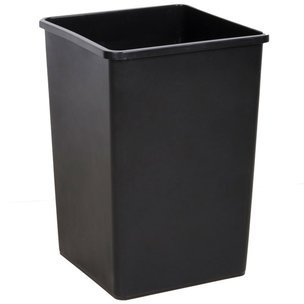 Trash Duty For Students With Special >> Black 35 Gallon Square Trash Can