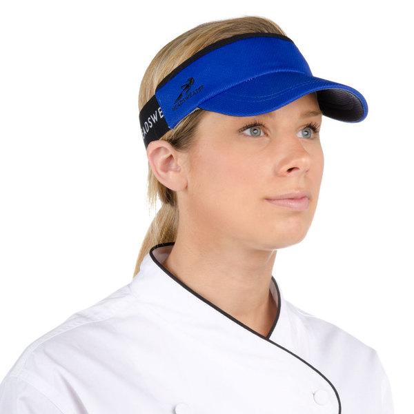 Headsweats Royal Blue CoolMax Chef Visor Main Image 1