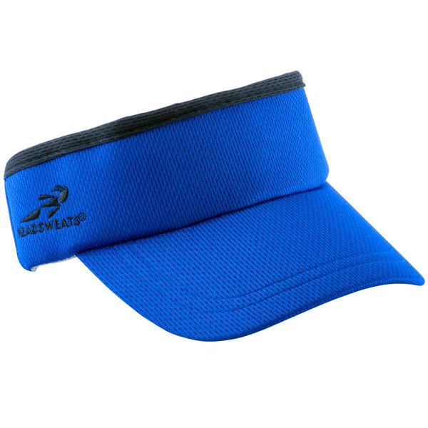 7fe3262a53961 Headsweats Royal Blue CoolMax Chef Visor