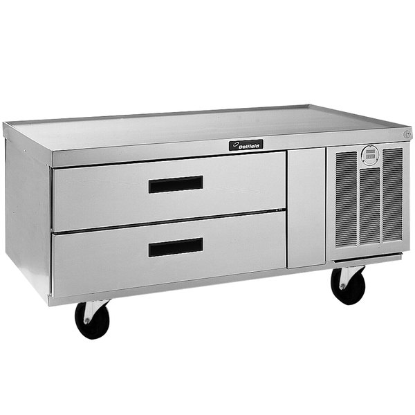 "Delfield F2952CP 52"" Two Drawer Refrigerated Chef Base Main Image 1"