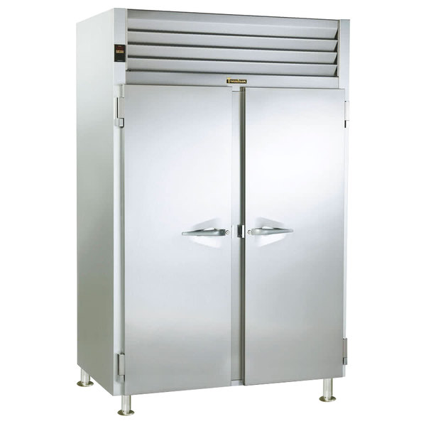 Traulsen RW232WP-COR01 55.8 Cu. Ft. Two Section Correctional Pass-Through Heated Holding Cabinet - Specification Line Main Image 1