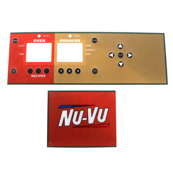 NU-VU 52-0372-B Label