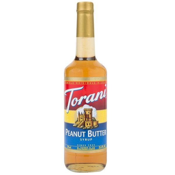 Torani 750 mL Peanut Butter Flavoring Syrup Main Image 1