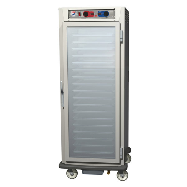Metro C599-SFC-UPFS C5 9 Series Pass-Through Heated Holding and Proofing Cabinet - Solid / Clear Doors Main Image 1