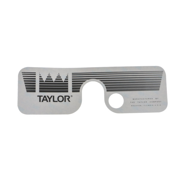 Taylor Company 050685 Decal