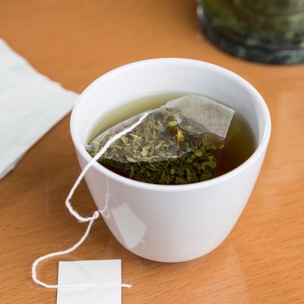 GET M-077C-W Water Lily 5.5 oz. White Melamine Tea Cup - 24/Case Main Image 7