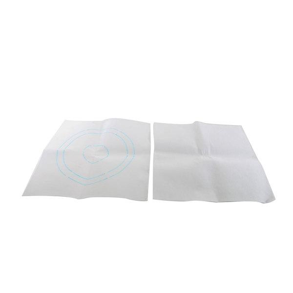 Univex S06000009 Felt Mat Pads (Set Of 2)