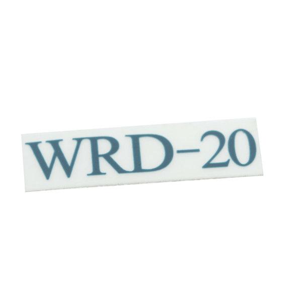 Edlund L272 Decal