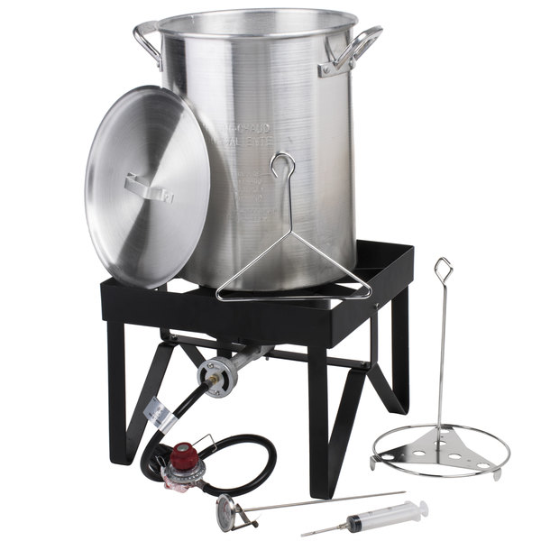 - Backyard Pro 30 Qt. Turkey Fryer Kit - 55,000 BTU