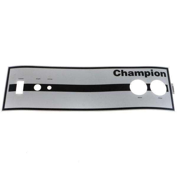Champion 0508668 Decal