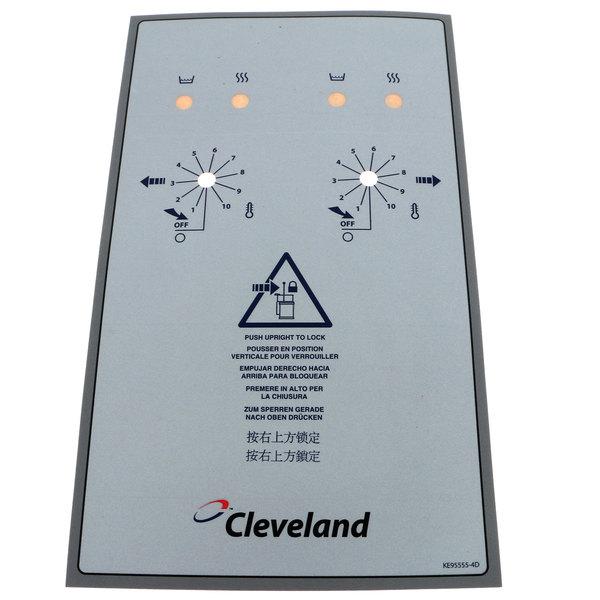 Cleveland KE95555-4 Label;Front (Tket6,12)