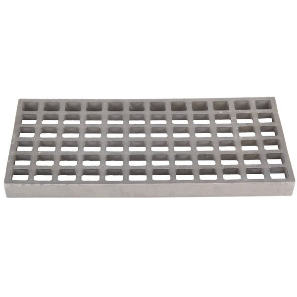 "Cooking Performance Group 370210 8"" x 15"" Bottom Grate for CPG Lava Rock Charbroilers"