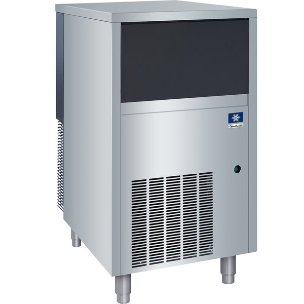 """Manitowoc UNF0200A-161 19 3/4"""" Air Cooled Undercounter Nugget Ice Machine with 30 lb. Bin - 145 lb."""