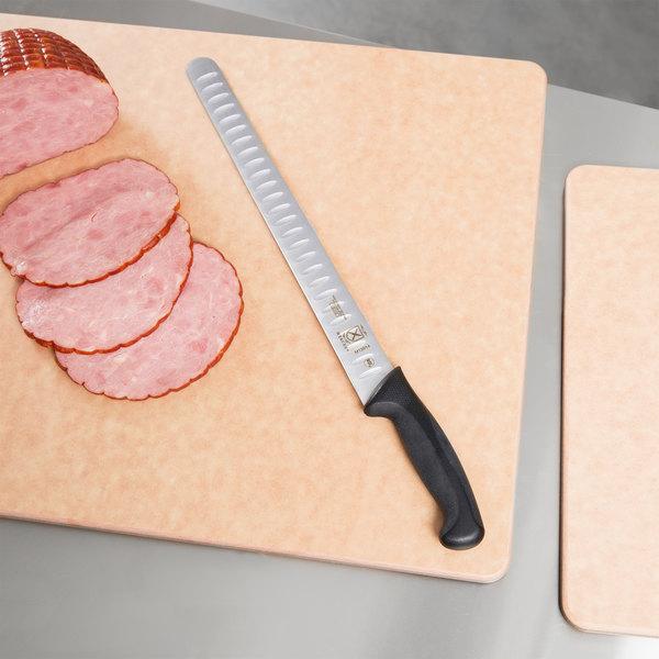 "Mercer Culinary M13914 Millennia 14"" Granton Edge Slicer Knife"