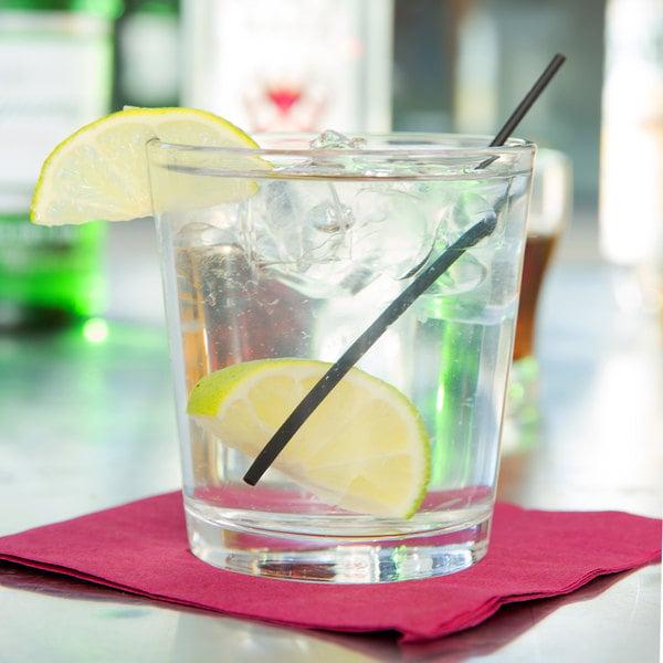 Libbey 15587 Restaurant Basics 12 oz. Double Rocks / Old Fashioned Glass - 24/Case
