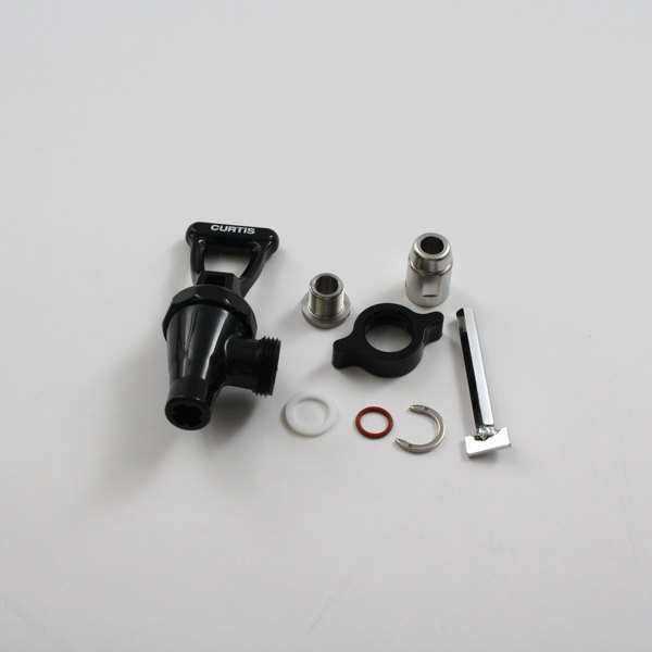 Wilbur Curtis WC-37260 Faucet W/Adapter Complete