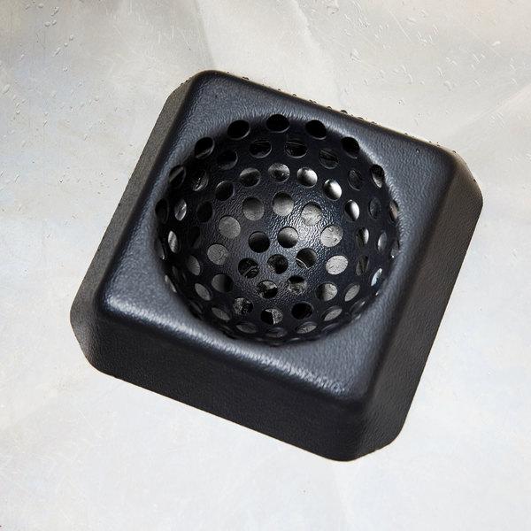"""FMP 102-1140 Plastic Dome Floor Sink Strainer - 6"""" x 6"""""""