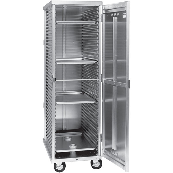 Cres Cor 102-ST-1841E Aluminum Non-Insulated Full Height Holding Cabinet Main Image 1