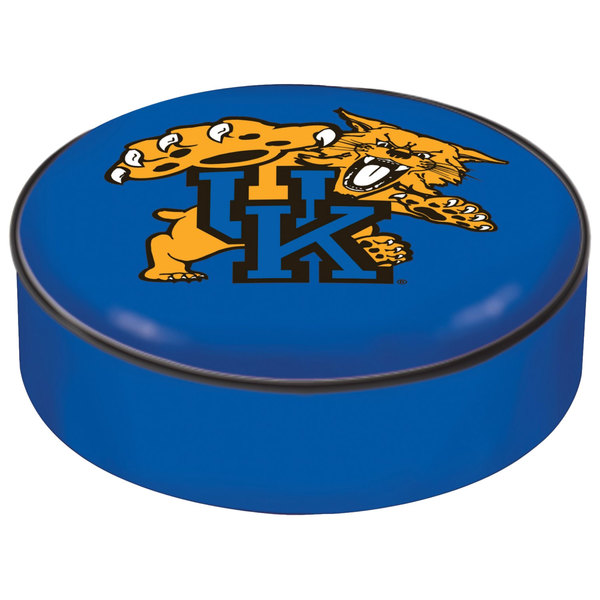 "Holland Bar Stool BSCUKYCat 14 1/2"" University of Kentucky Vinyl Bar Stool Seat Cover Main Image 1"