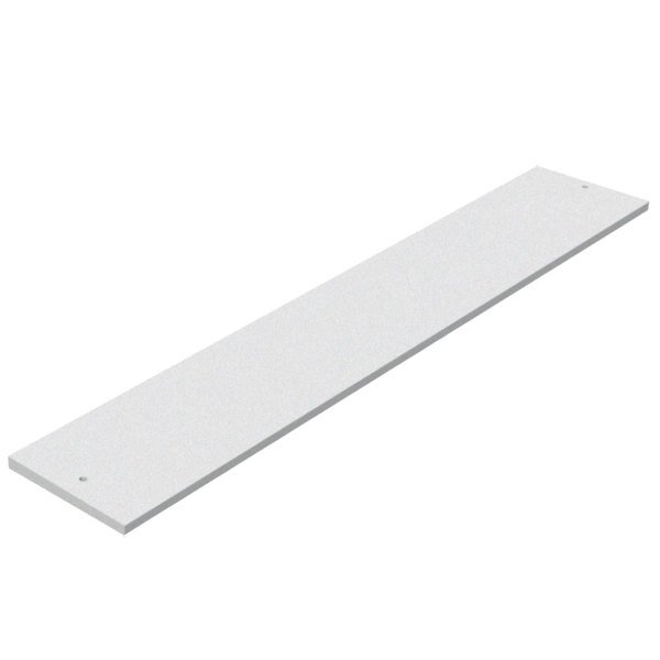 "Advance Tabco SU-P-342 31 13/16"" x 8"" Cutting Board Main Image 1"