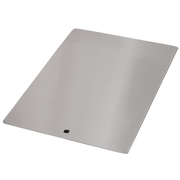 "Advance Tabco K-455D Stainless Steel Sink Cover for 18"" x 24"" Compartments"