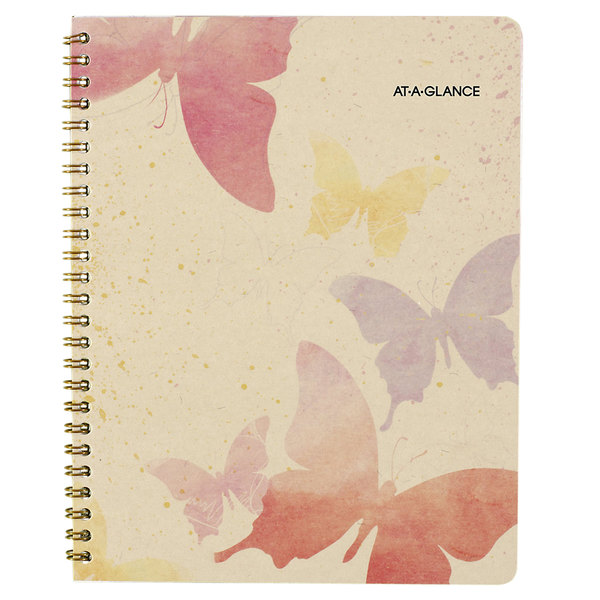 """At-A-Glance 791800G Watercolors 6 7/8"""" x 8 3/4"""" January 2020 - January 2021 Monthly Planner"""