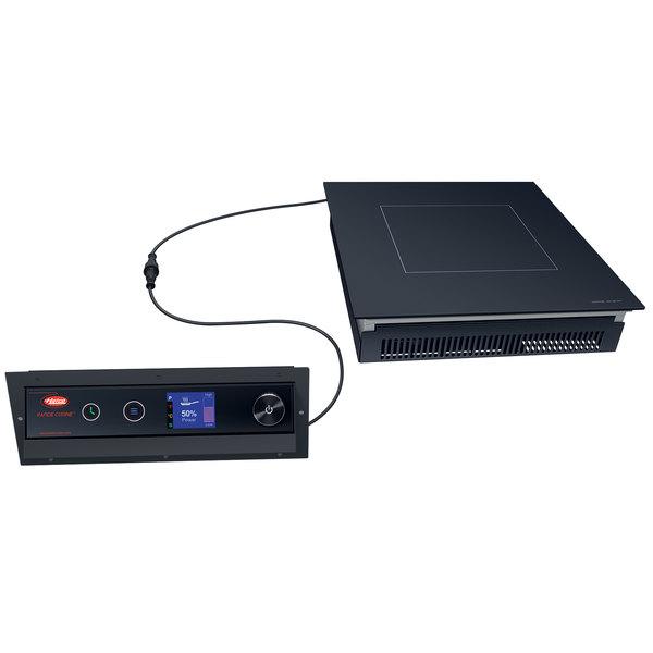 Hatco IRNG-PB1-18 Rapide Cuisine Black Built-In Induction Range / Cooker - 120V, 1800W