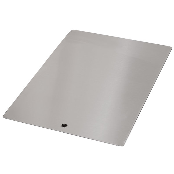 """Advance Tabco K-455A Stainless Steel Sink Cover for 10"""" x 14"""" Compartments"""