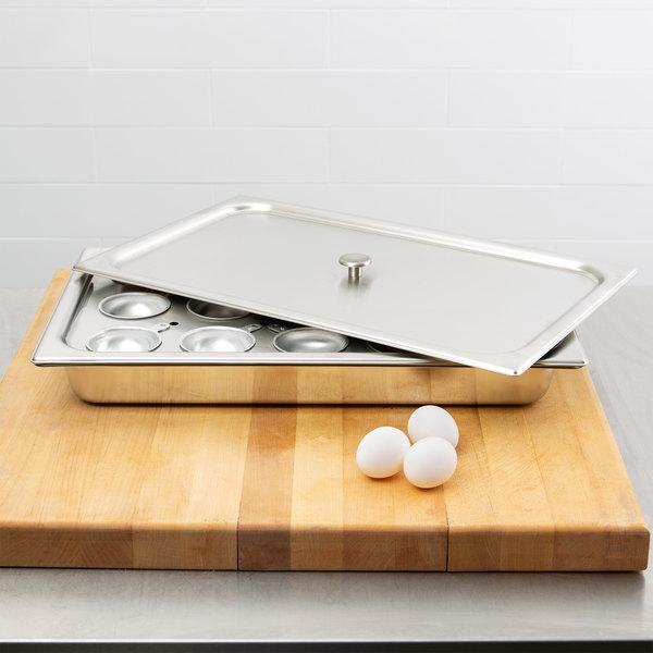 Vollrath 75060 Full Size S/S Egg Poacher Main Image 12