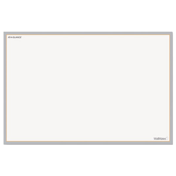 "At-A-Glance AW401028 WallMates 12"" x 18"" Self-Adhesive Dry Erase Writing Surface"